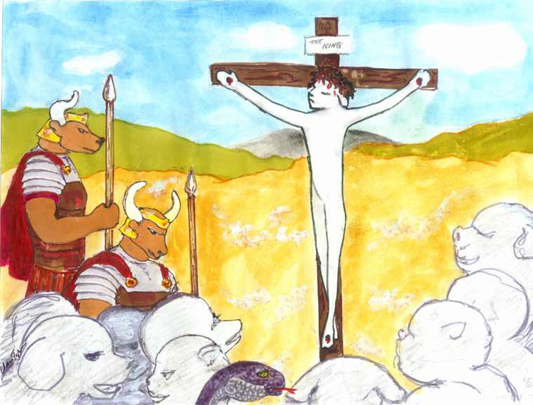 The Lamb Crucified